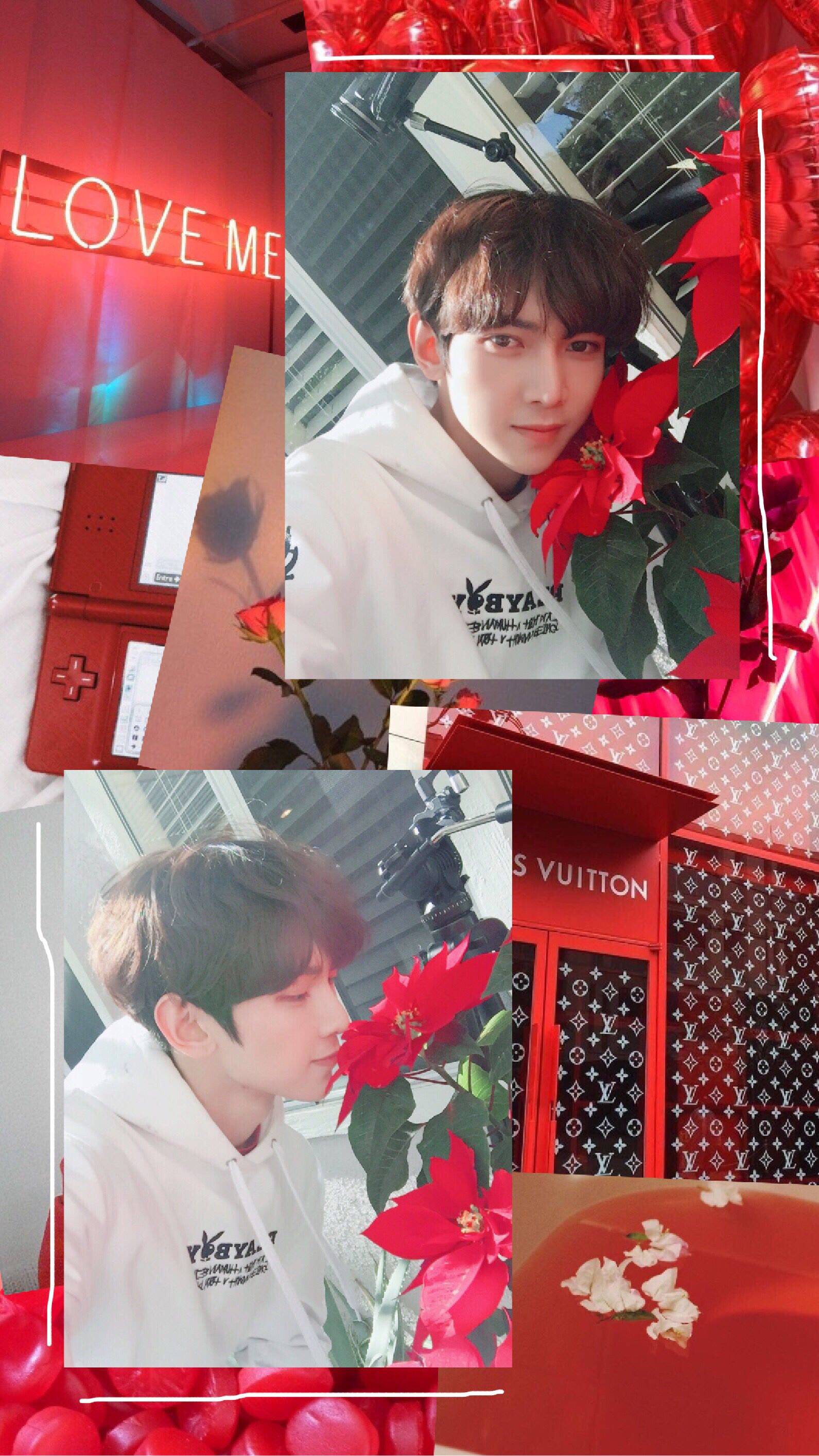 Ateez Atiny Yeosang Kangyeosang Kpop Edit Wallpaper In