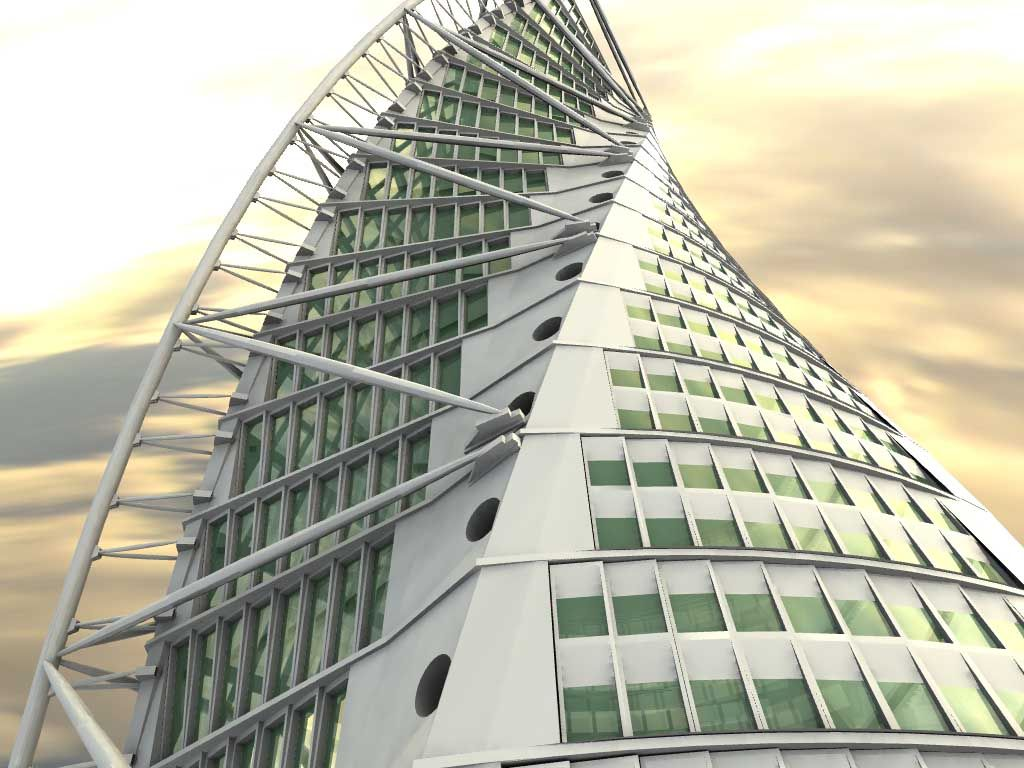 In 2005 The Turning Torso Building Was Inaugurated In The
