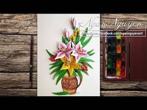 Paper Quilling Flower How To Make A Beautiful Quilling