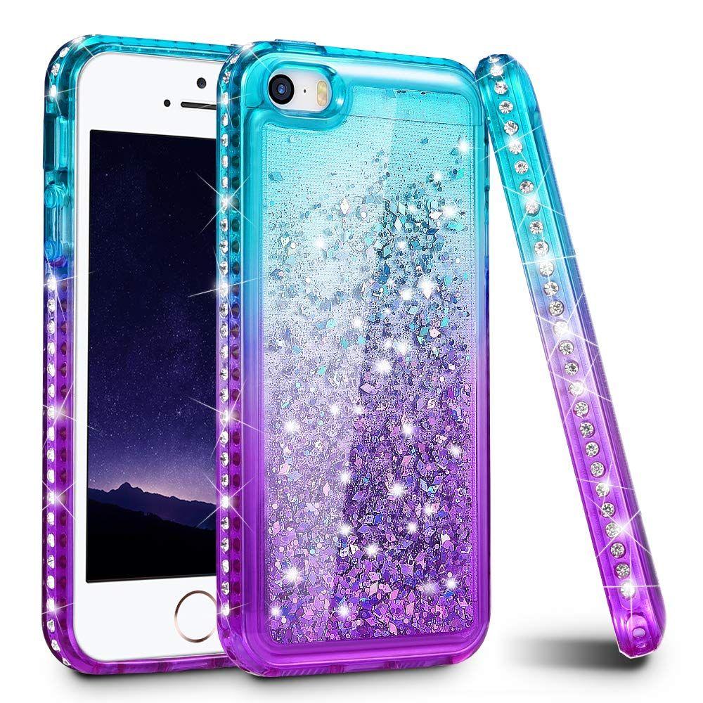 timeless design 93323 1ab59 Amazon.com: iPhone 5S Case, iPhone SE/iPhone 5 Case, Ruky [Gradient ...