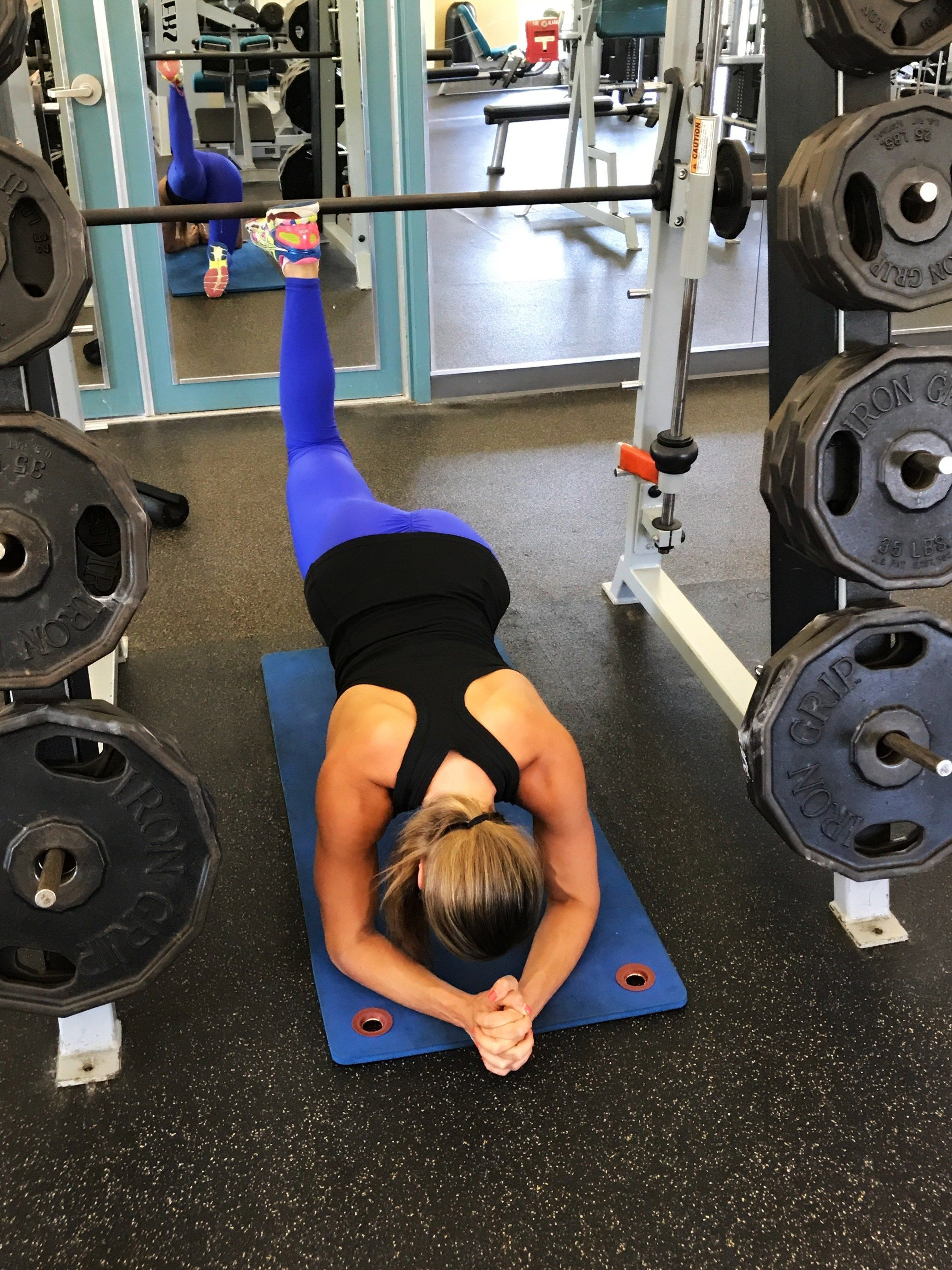 Tag A Friend Absolutely One Of The Best Glute Isolation Exercises Legs Workout Killer Circuit Totally Dead Superset U Can Do Be Sure To Add Weight And Bring Bar All Way Down Pus Gym Exerc