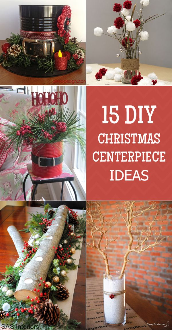 15 easy and stunning christmas centerpiece ideas christmas christmas centerpieces christmas. Black Bedroom Furniture Sets. Home Design Ideas