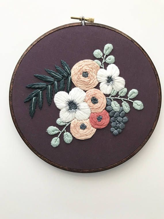 Embroidery Kit Designs Embroidered Embroidery Pattern Embroidery