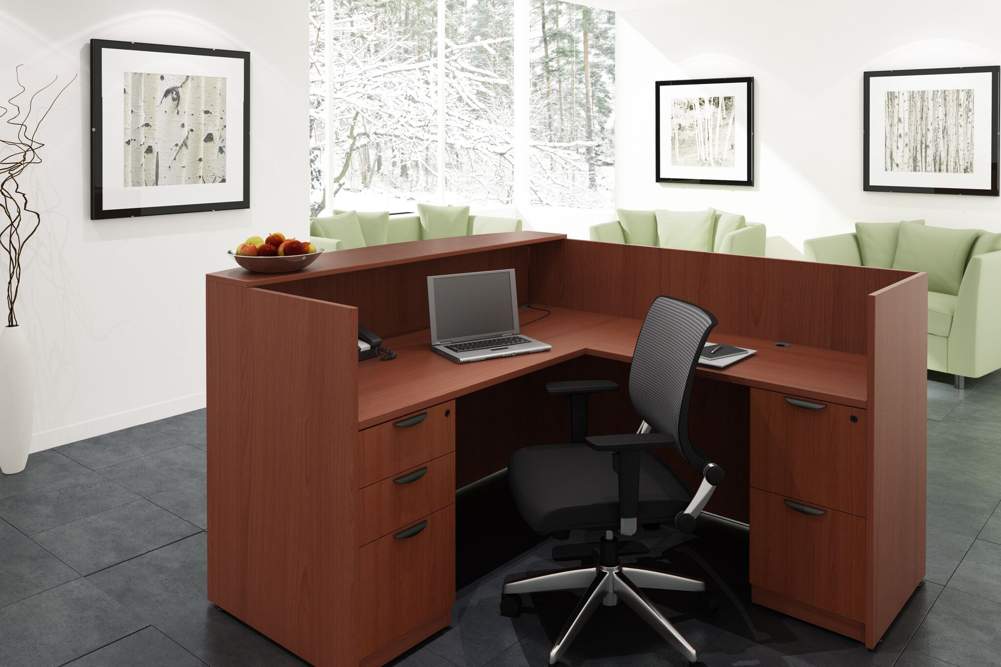The Receptionarea Is Typically The First Thing You See Upon