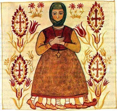 Όσιος Ευθύμιος ο Νέος, ο εν Βραστάμοις ασκητεύσας: Αργυρώ Θεοφανίδου ,ζωγράφος,αγιογράφος,ποιήτρια