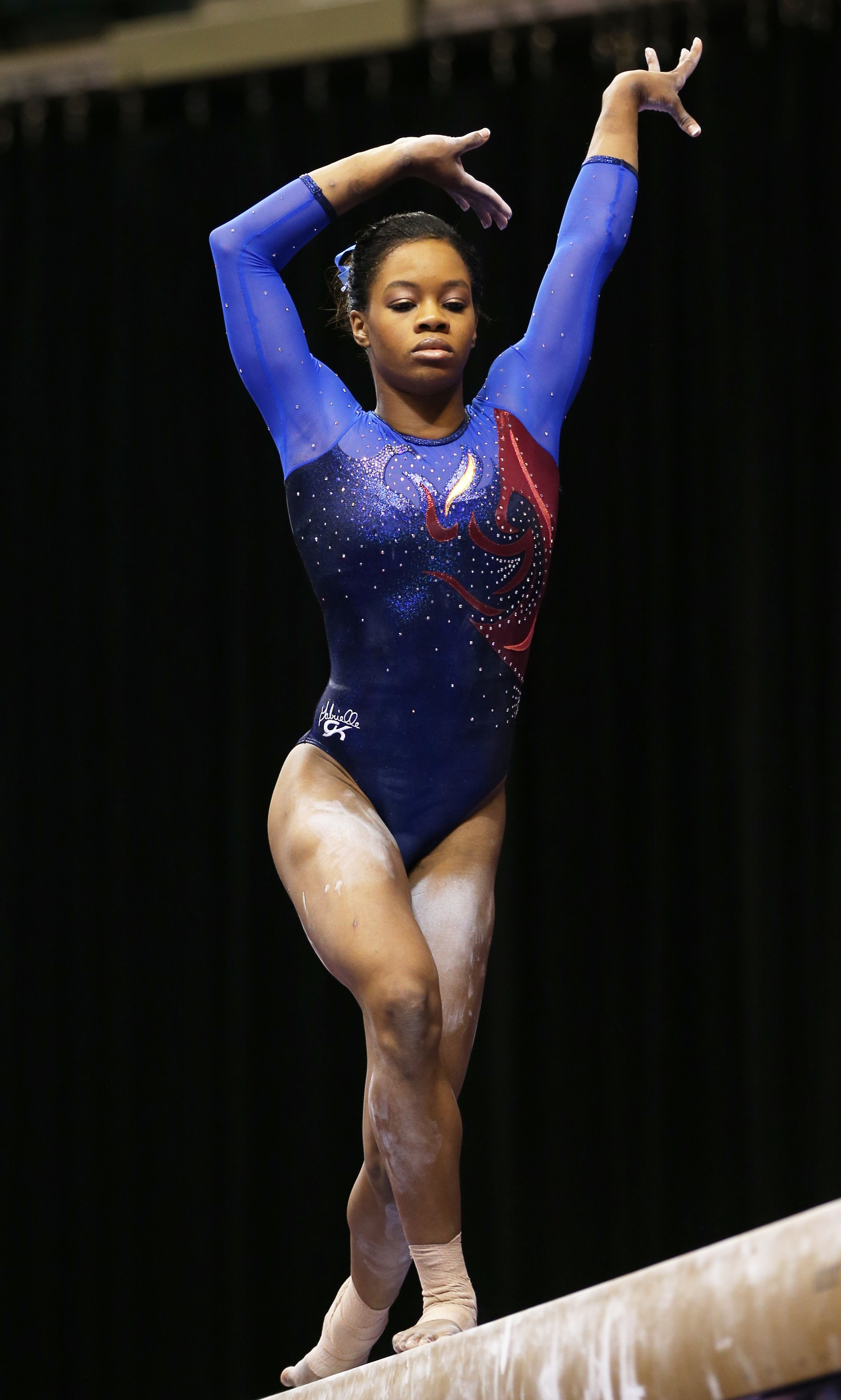 Gabby douglas plue and purple competitive gymnastics leotards as gabby douglas plue and purple competitive gymnastics leotards as seen at the 2015 us championship m4hsunfo