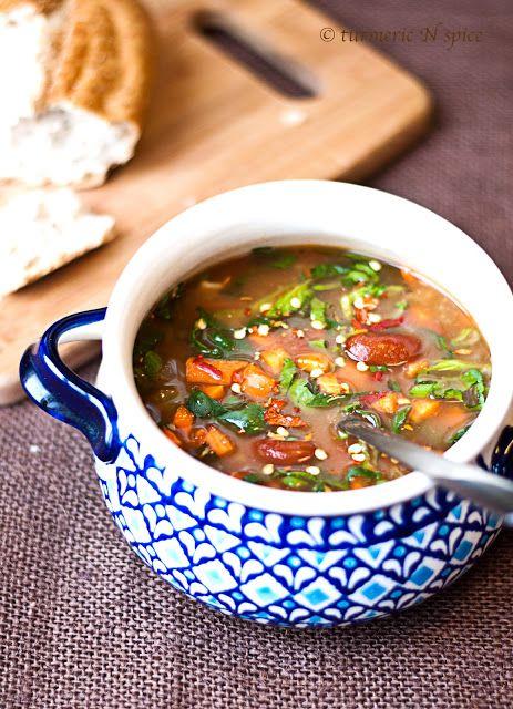 jamie oliver 39 s minestrone food pinterest suppen rezepte und gew rze. Black Bedroom Furniture Sets. Home Design Ideas