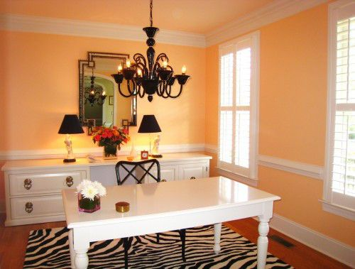 Turning Formal Dining Room Into Home Office
