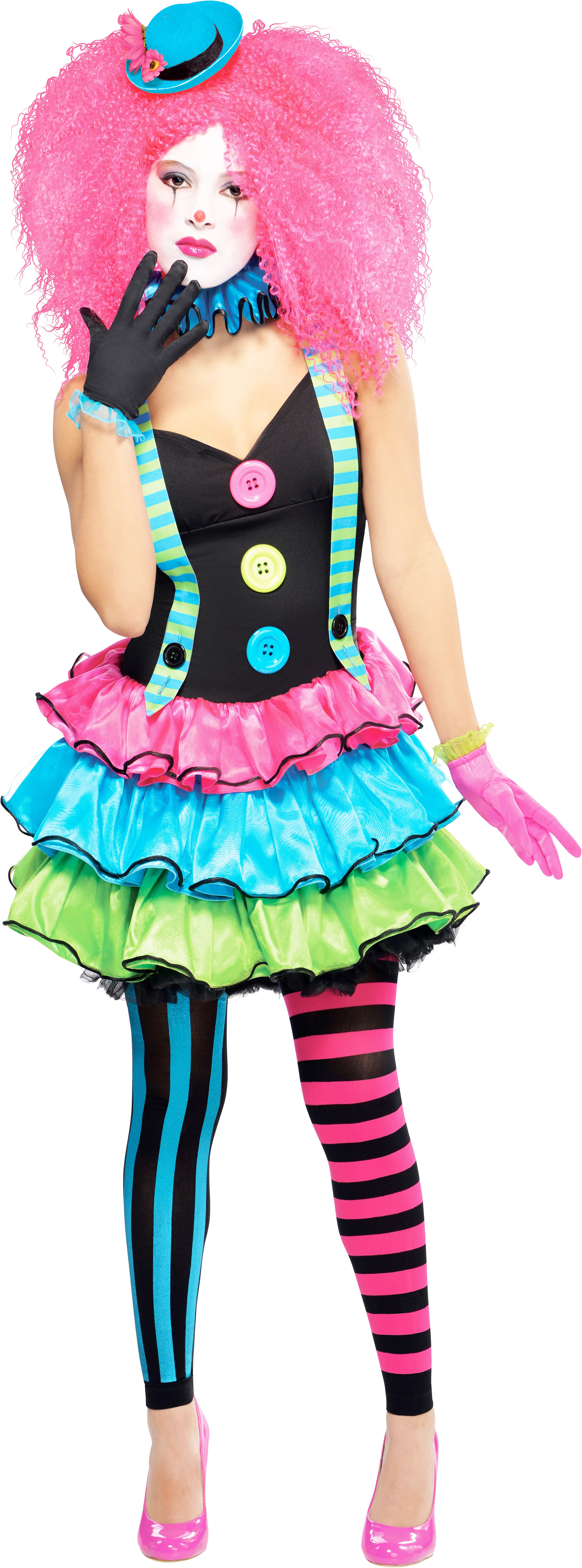 kool clown costume all halloween mega fancy dress
