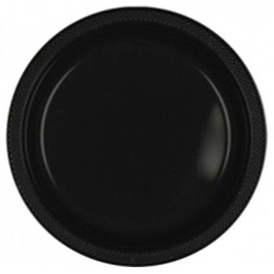 Jet Black 7 inch Plastic Plates/Case of 200  sc 1 st  Pinterest & Jet Black 7 inch Plastic Plates/Case of 200   Party Supplies ...