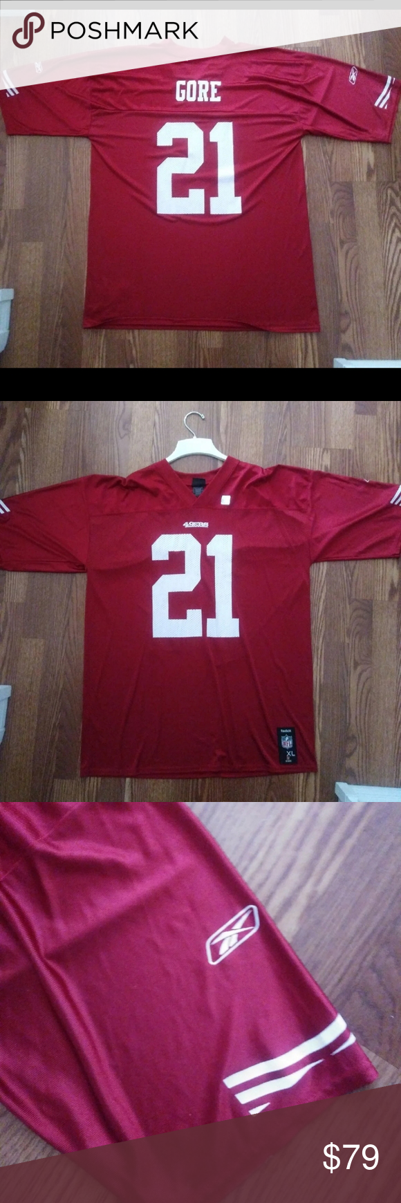 San Francisco 49ers Jersey Throwback Gore In 2020 Jersey San Francisco 49ers Frank Gore
