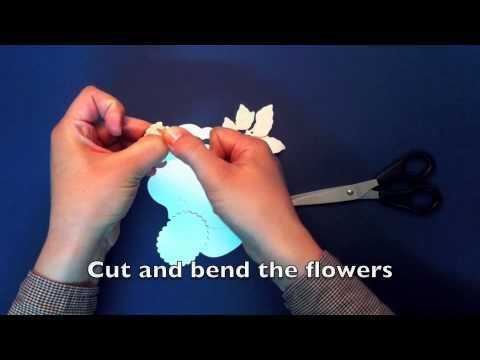 For My Dearest - How to make a card using Spellbinders Dies
