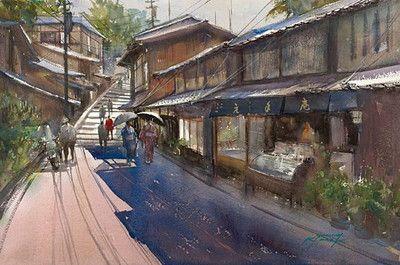 Image Result For 水彩画 画家 日本人 Japanese Landscape