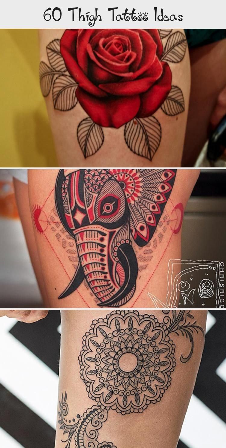 Photo of 55 Thigh Tattoo Ideas #Tinyornamentaltattoo #ornamentaltattooHand #ornamentaltat…