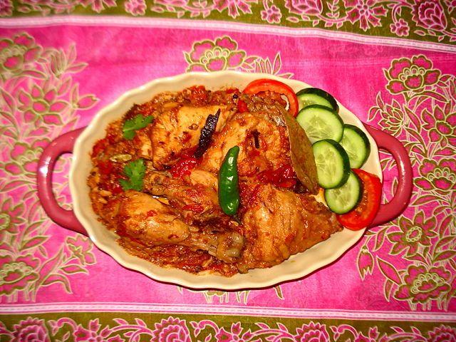 Cuisine Of Karachi Chicken Khara Masala Halal Food