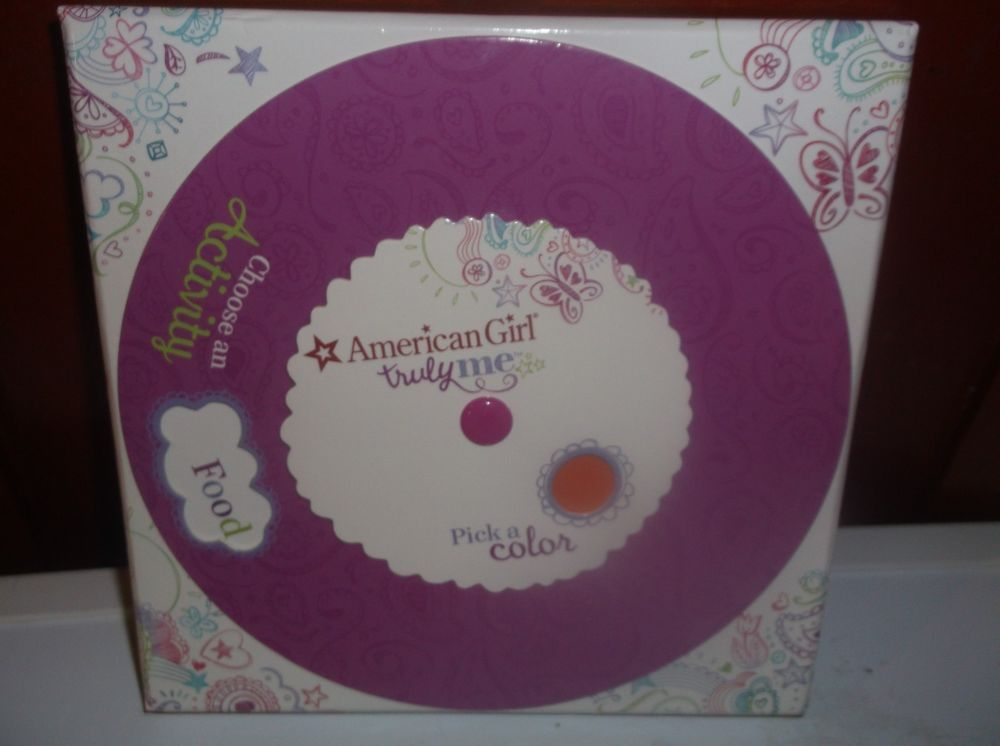 American Girl Truly Me Activity Game New !!!!