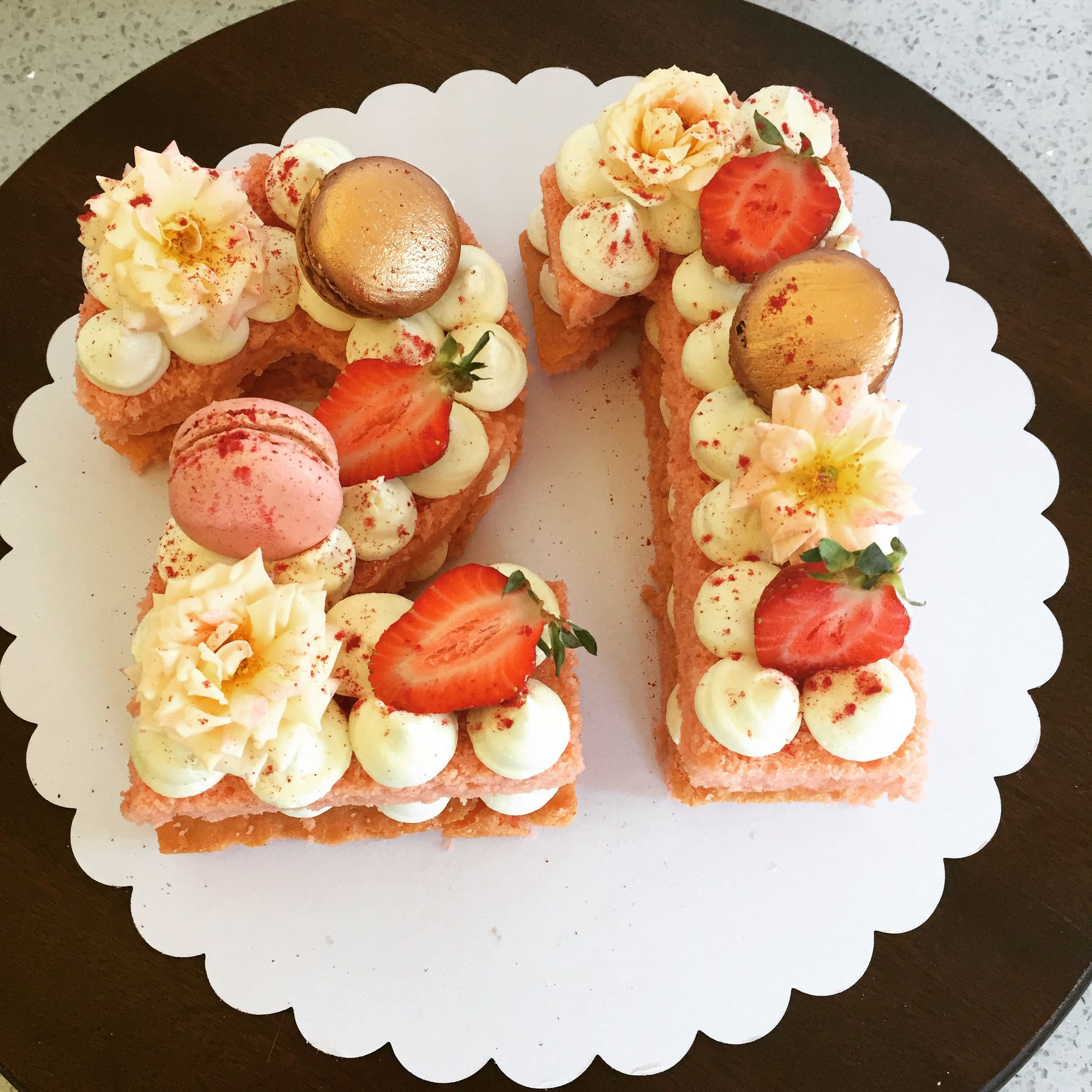 Ideas For Strawberry Cakes