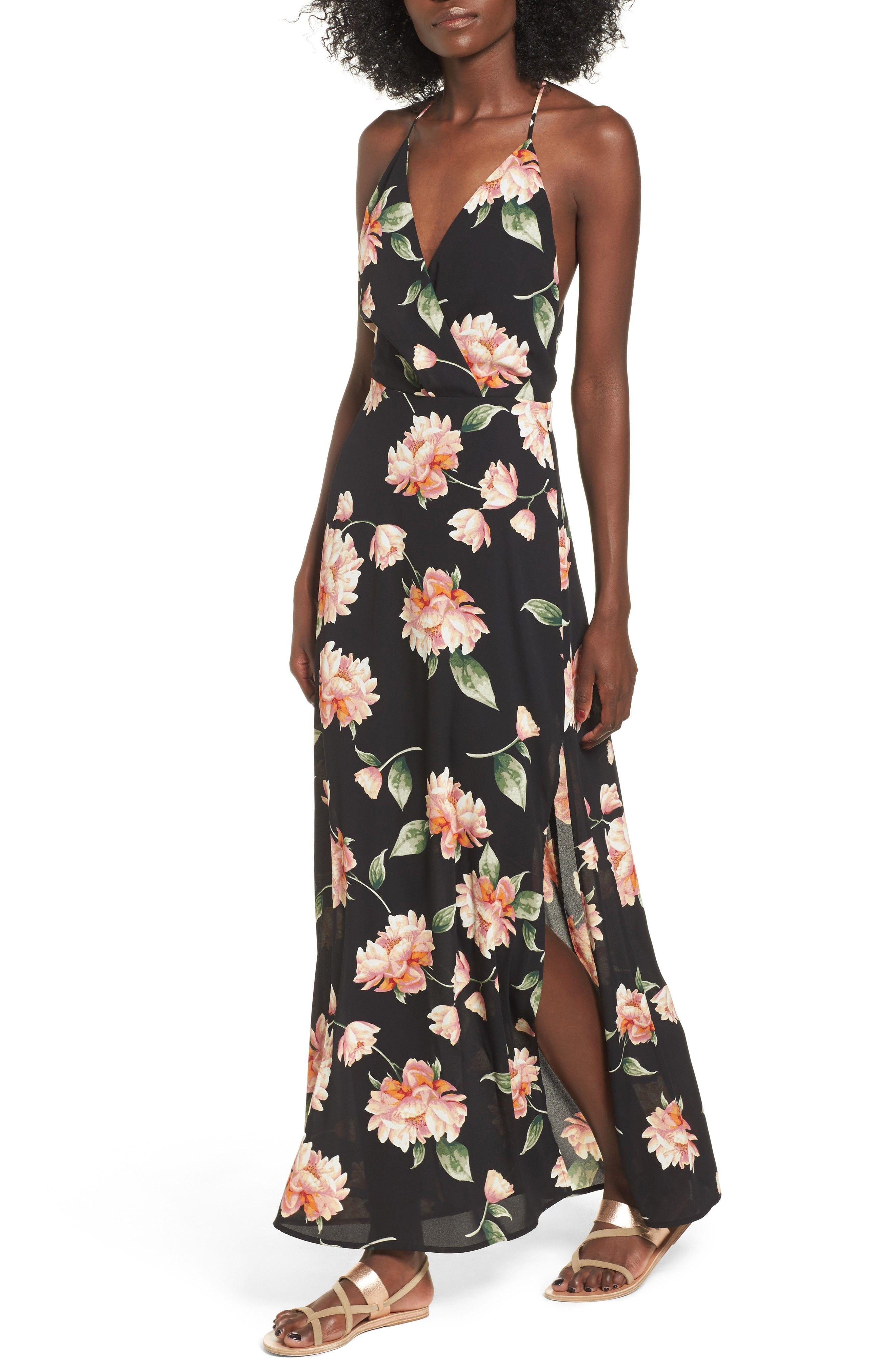 Surplice Maxi Dress Dresses Maxi Dress Nordstrom Dresses [ 4048 x 2640 Pixel ]