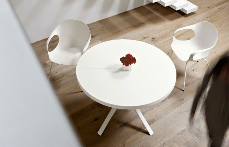 Tavoli Rotondi Allungabili dal Design Moderno Tavolo