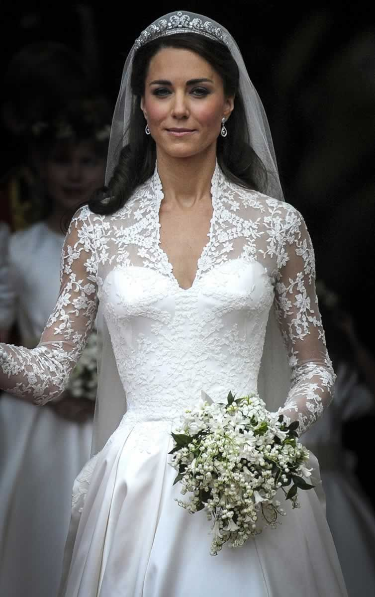 The expression on her face is great like she 39 s giving for Princess catherine wedding dress