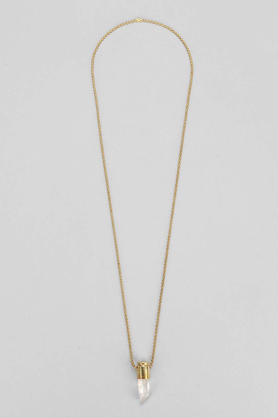 Lovebullets Arkansas Crystal Necklace