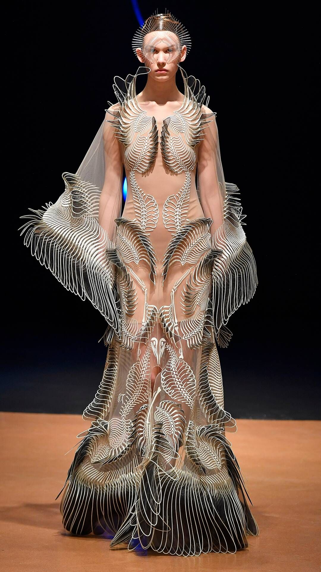Photo of Iris Van Herpen from Best Fashion Looks at Fall 2020 Fashion Week
