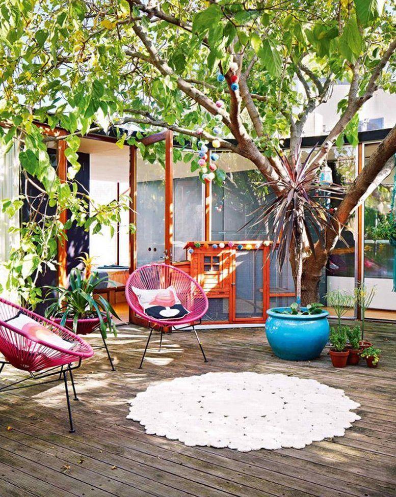 19 Cheerful Summer Terrace Designs That Everyone Should See Paisajes Jardines Pequenos Diseno De Terraza