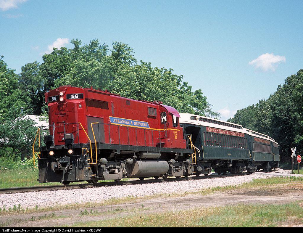 RailPictures.Net Photo: AM 56 Arkansas & Missouri Railroad Alco C420 at Rogers, Arkansas by David Hawkins - KB5WK