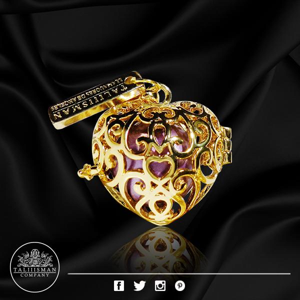 LDA - corazón imperial Gold - HB lavanda de TALIIISMAN COMPANY® ¡Contáctanos! 01800 286 7967info@taliiisman.com www.facebook.com/Taliiisman