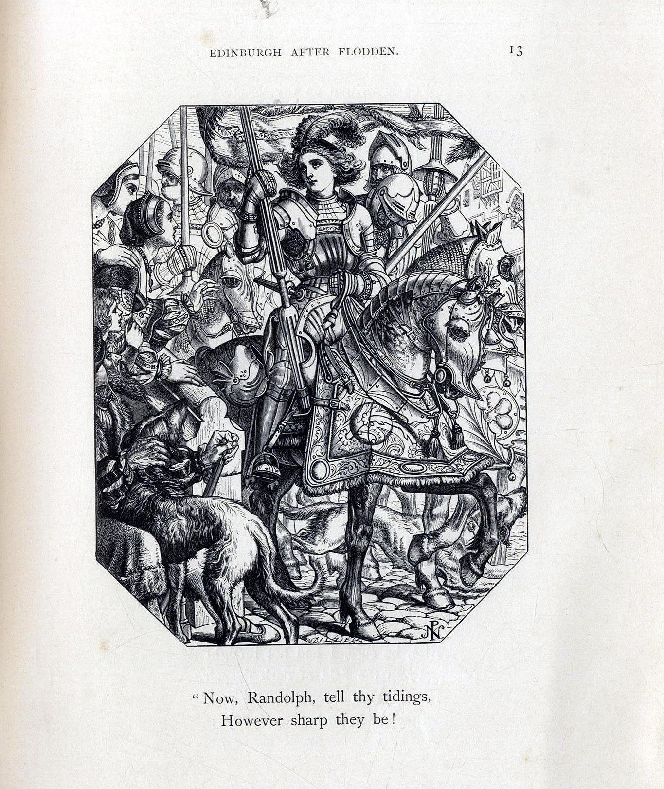 Ayton's Lays 1865 - Illustrated by Joseph Noel Paton
