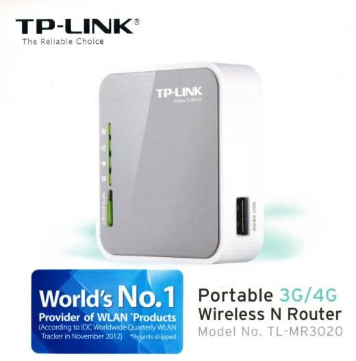 Tp-link Tl-mr3020 Portable 3g 4g Usb Modem Wireless N Wifi