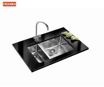 Product image for Franke Kubus KBX 160 45-20 Silk Steel Undermount Kitchen Sink