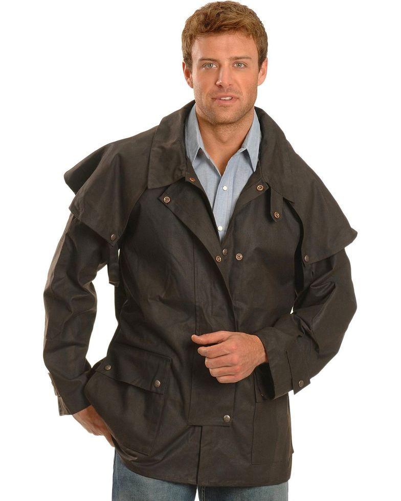 Outback Trading Co Men S Short Oilskin Duster Oilskin Duster Men S Coats And Jackets Oilskin