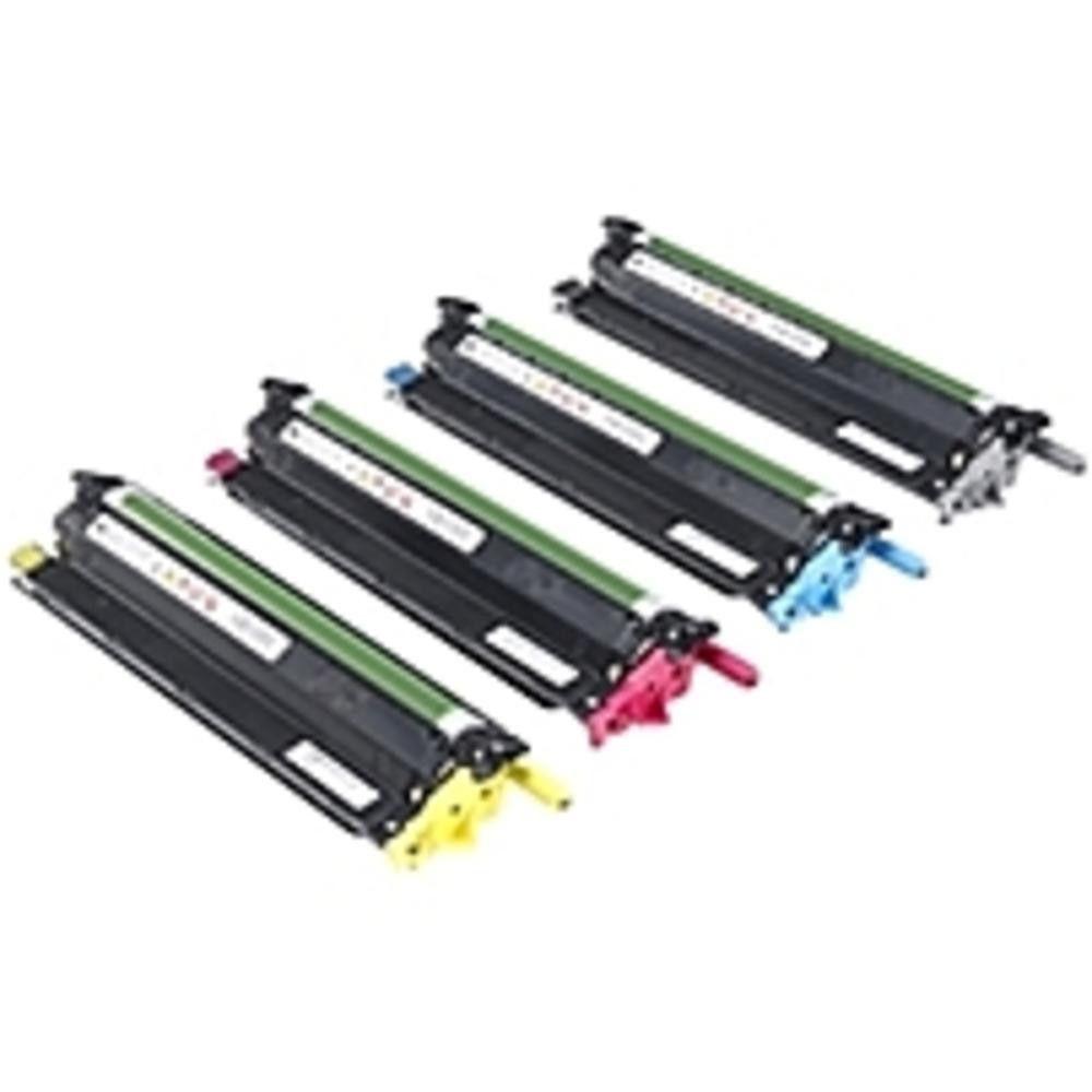 Dell Imaging Drum Kit For C3760n C3760dn C3765dnf Color Laser Printers 60000 Page 4 Pack Laser Printer Drum Kits Drums