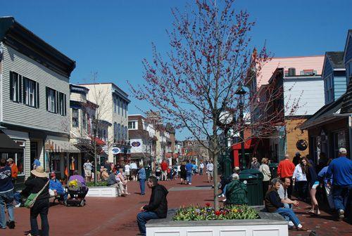 Enjoy the many great shops, restaurants and bars along