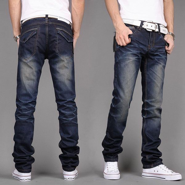 Low bottom jeans for men are back in fashion:  http://menfash.com/jeans/low-bottom-jeans-for-men