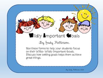 Wildly Important Goals Wigs Wildly Important Goals Teacher Humor Leader In Me Wildly important goals worksheet