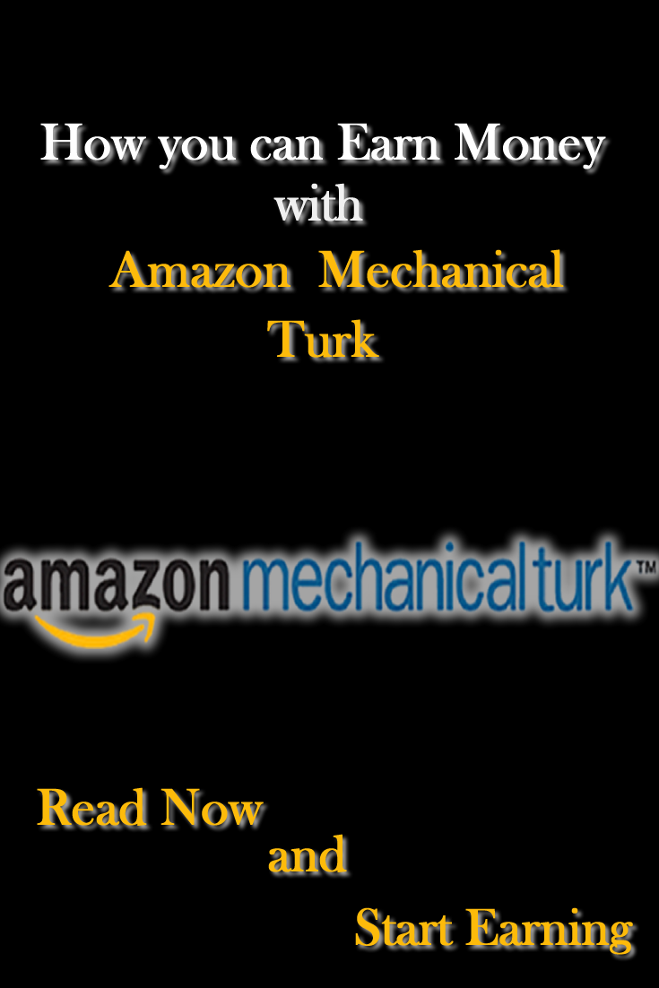 How To Get Money From Amazon Mechanical Turk