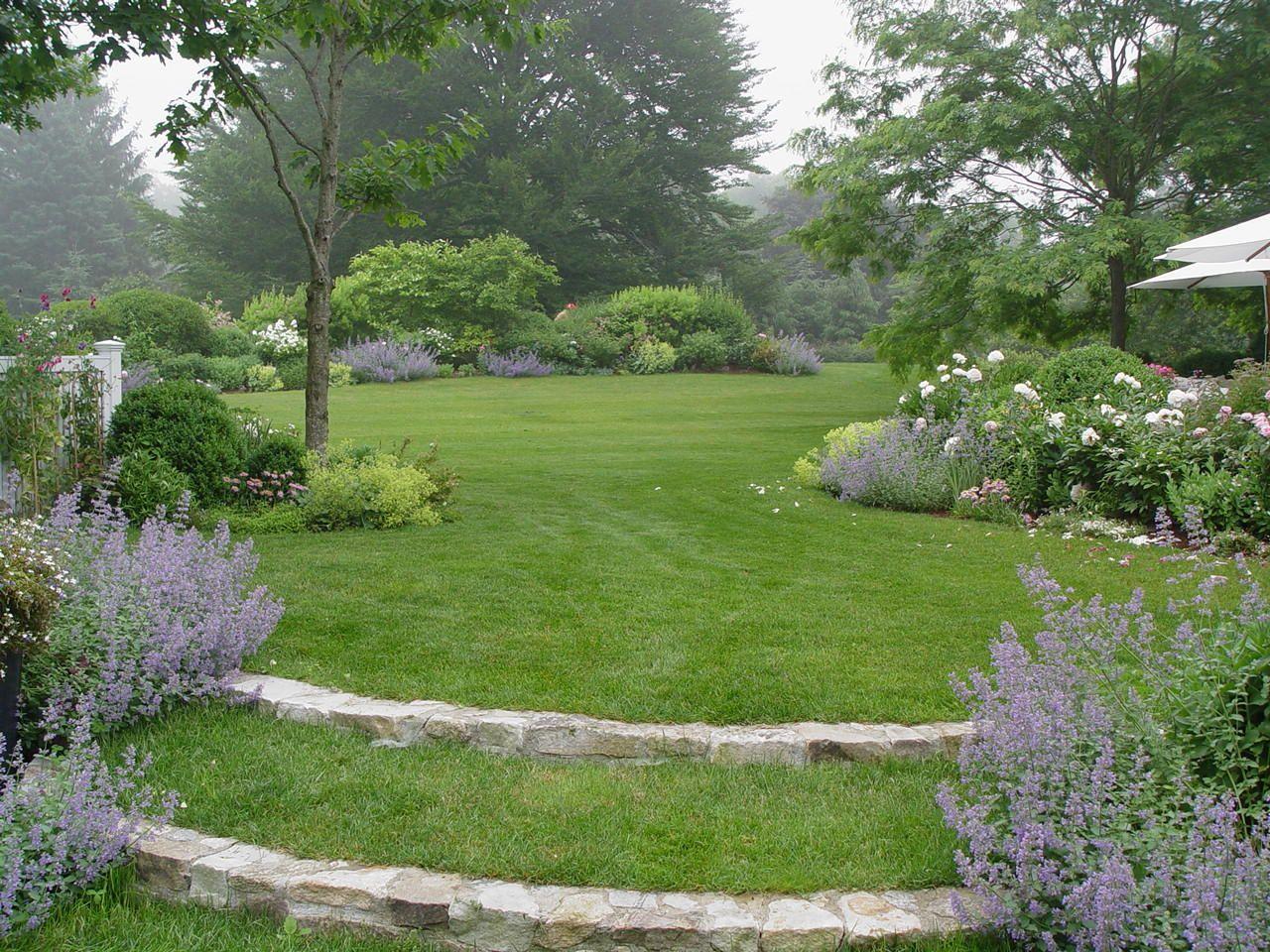sloped backyard ideas google search gardens pinterest