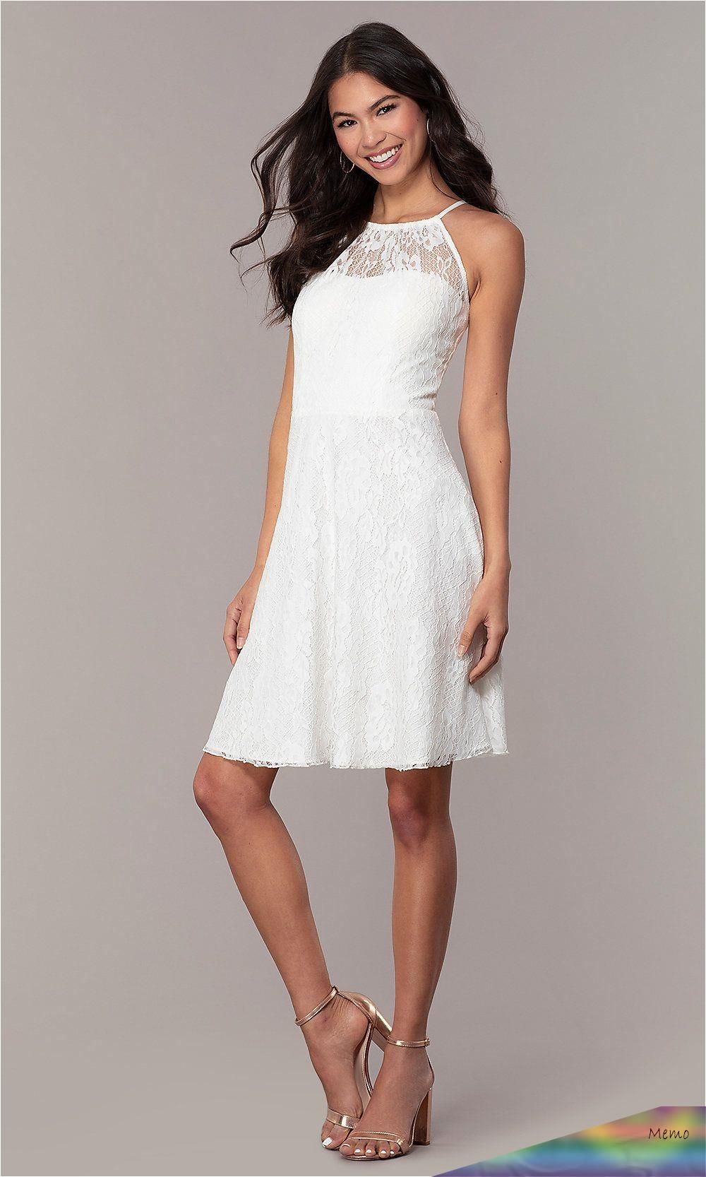 Jul 22 2019 This Pin Was Discovered By Galit Yaffe Discover And Save Your Own Pins On In 2020 White Short Dress Short Graduation Dresses White Lace Party Dress [ 1666 x 1000 Pixel ]