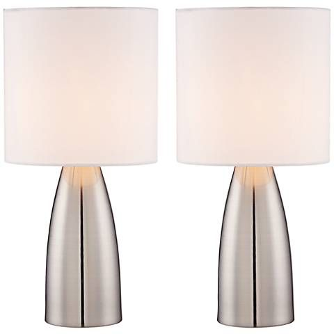 Set Of 2 Aron 14 1 2 High Accent On Off Touchtable Lamps 8y357 Lamps Plus Touch Lamp Lamp Sets Lamp