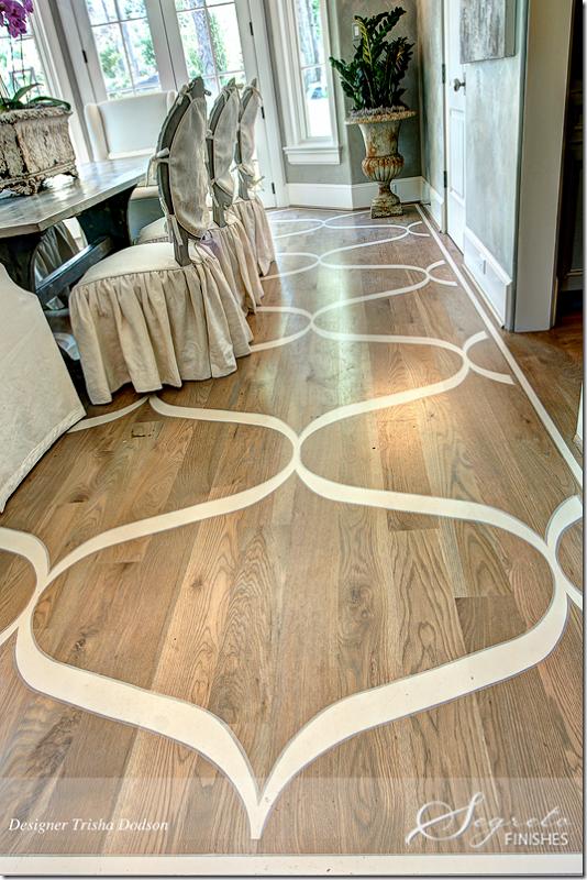 Gorgeous Patterned Wood Floors Creative Diningroom Favorite