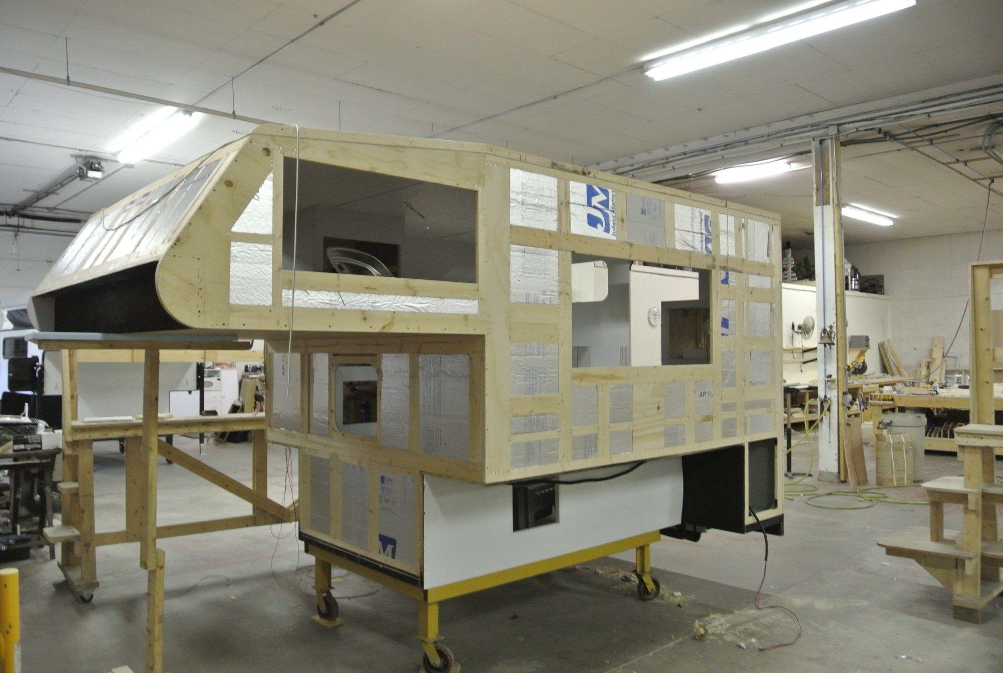 Why Wood Frame Construction? Truck camper, Slide in