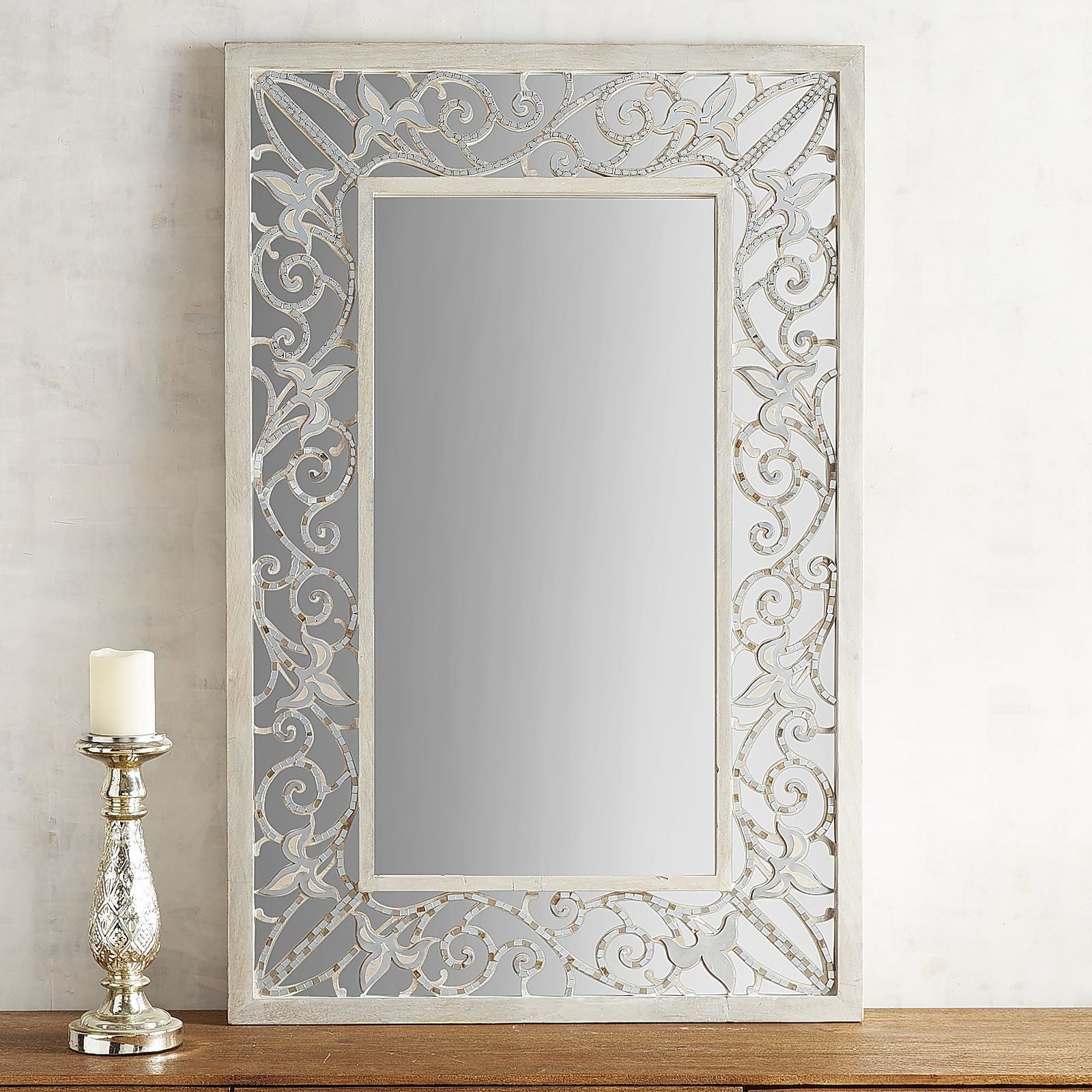 Mix Elegance With Glamour And You Get Our Nannette Mirror