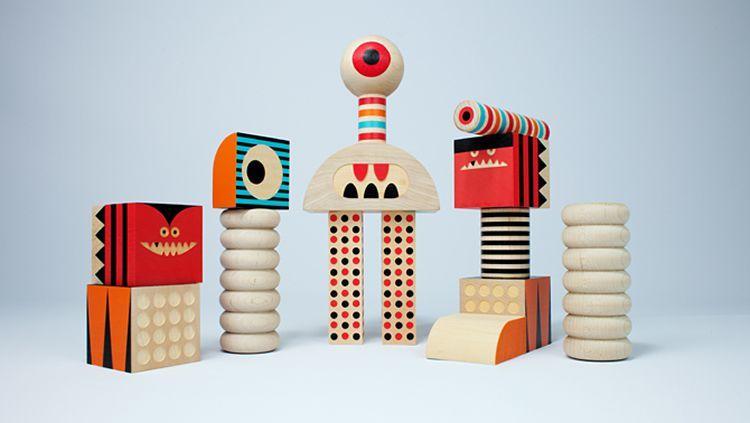 Les joguines de fusta de Invisible Creature   tot nens