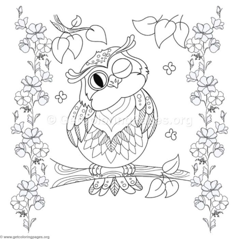coloringpages - Page 60 - GetColoringPages.org | Owl ...