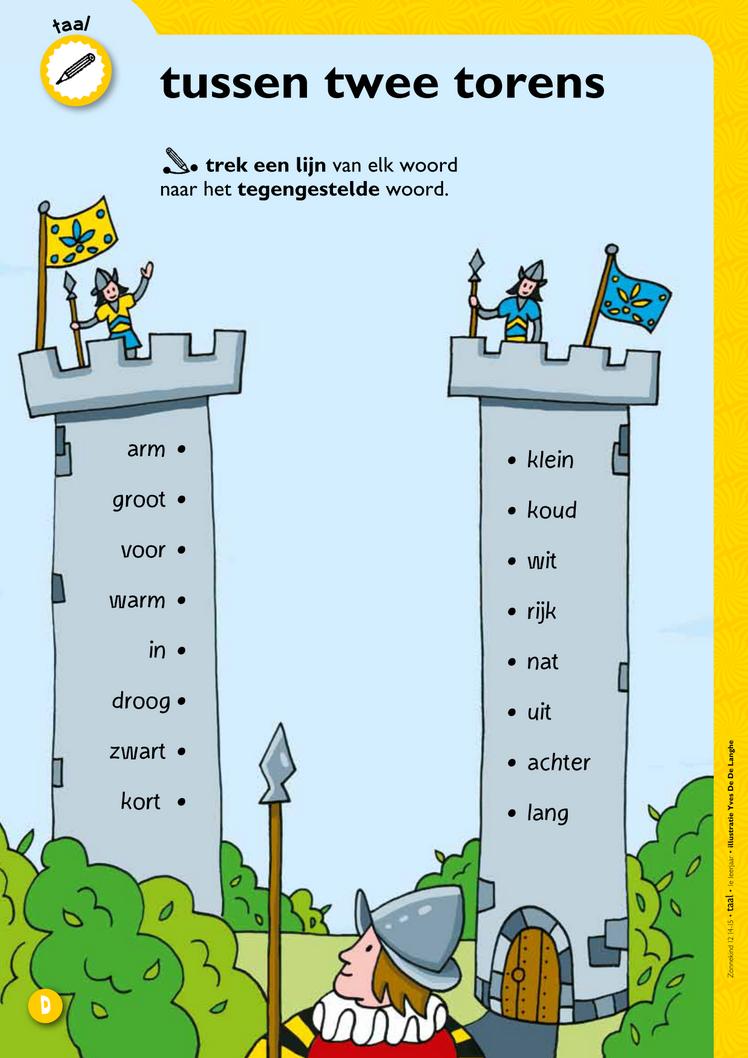 Tussen twee torens - tegenstellingen @keireeen | Nederlands ...