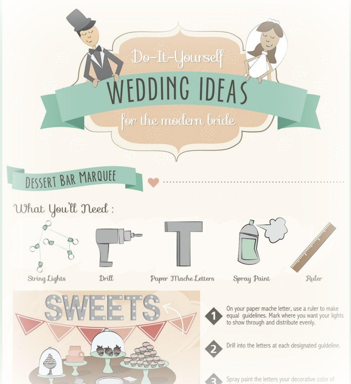 Infographic | Wedding favours diy, Dessert bars and DIY wedding