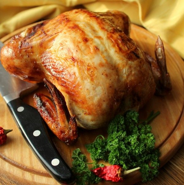 Quick and easy recipe for a succulent and moist Roasted Chicken. Serve with your favorite side dishes for the perfect comfort meal everyone will enjoy.