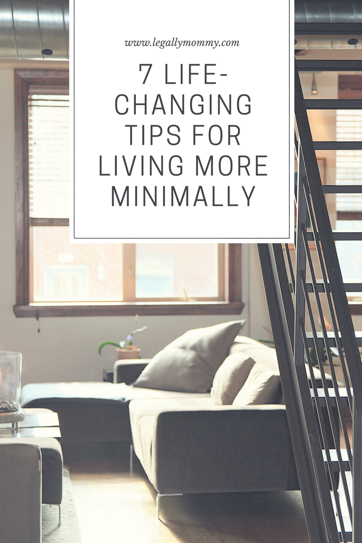 Today, I wanted to share some of my most useful tips for living more minimally. I hope they help you as much as they have helped me.